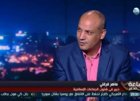 ماهر فرغلي: الإخوان استغلت غياب الدولة وتوغلت في النسيج المصري