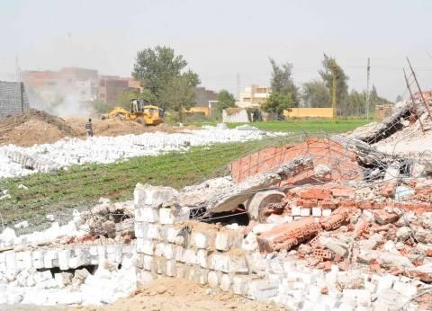 إزالة 45 طنا من المخلفات والقمامة بمركز ديرمواس بالمنيا