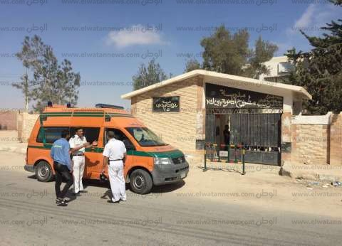 أمن الإسماعيلية يتحفظ على سيارة إسعاف بها 50 كيلو بانجو
