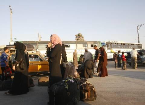 عودة عدد من الأسر النازحة بسبب الأوضاع الأمنية إلى قرى الشيخ زويد ورفح