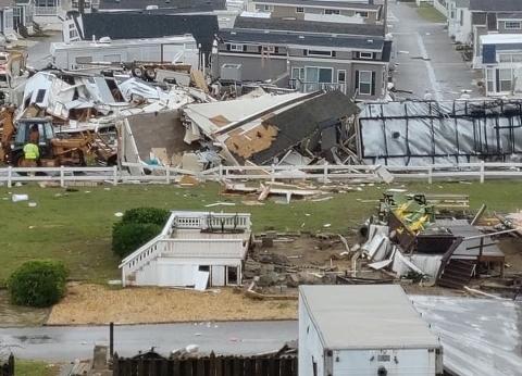 تسارع عمليات الإجلاء في الباهاماس بعد أسبوع من الإعصار دوريان