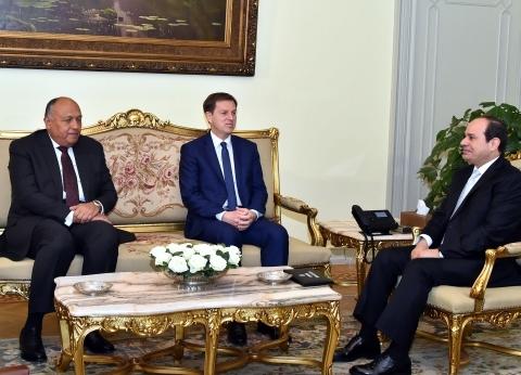 السيسي يستقبل وزير خارجية سلوفينيا.. ويؤكد تعزيز التعاون بين البلدين