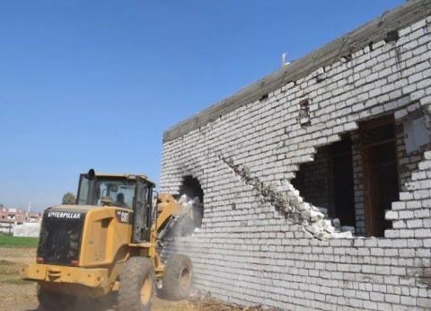 """ضمن """"حق الشعب"""".. المنيا تزيل 4185 حالة تعدٍ على أملاك الدولة"""