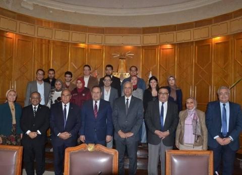 """""""جامعة الإسكندرية"""" تكرم ثنائي نسائي لحصده جوائز دولية"""