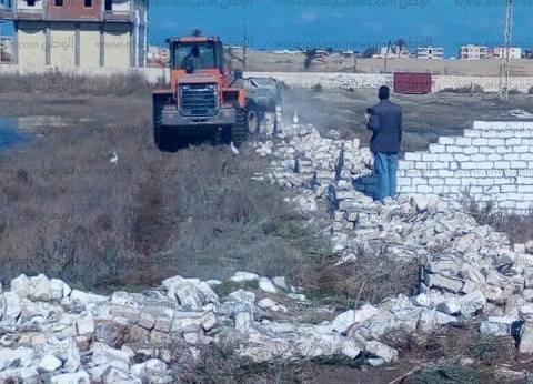 بالصور| أمن كفرالشيخ يُنفذ 27 قرارا بإزالة التعديات على الأراضي الزراعية وأملاك الدولة