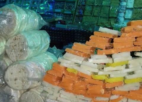 ضبط 78 كيلو حلوى و135 عبوة أغذية أطفال فاسدة في الغربية