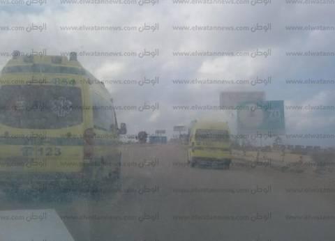 مصدر: استهداف سيارة إسعاف بالرصاص جنوب العريش بدون إصابات