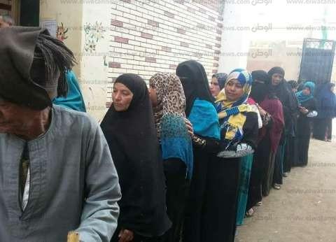 طوابير السيدات بالمرج تتصدر المشهد الانتخابي لليوم الثاني