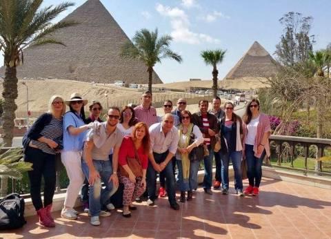 """""""مصر للطيران"""" تستضيف وفدا يونانيا لتنشيط السياحة الوافدة إلى مصر"""