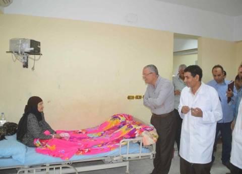 محافظ المنيا يتابع استعدادات المدارس وأعمال النظافة ورفع الإشغالات