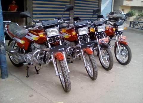 ضبط 3007 دراجات نارية دون لوحات مرورية