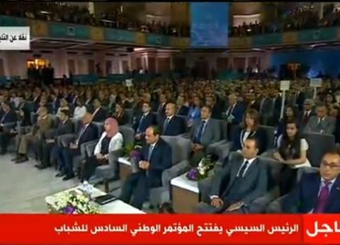 """السيسي لـ""""المصريين"""": أنا مبحبش أخوف حد"""