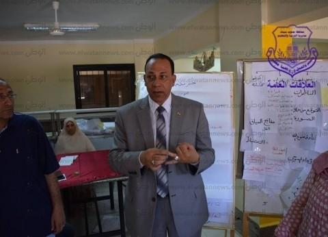 """وكيل """"تعليم جنوب سيناء"""" للمعلمين: ابتعدوا عن النمطية في الشرح"""