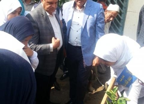انطلاق مبادرة زراعة المليون شجرة مثمرة بمحافظة البحيرة