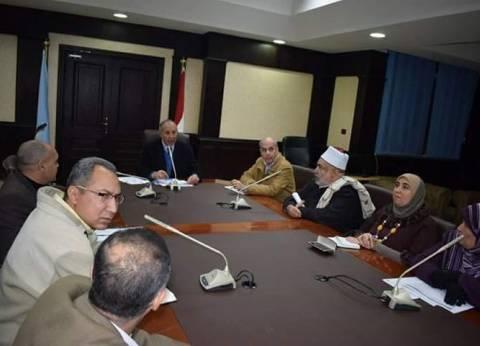 محافظ البحر الأحمر يترأس اجتماع المجلس القومي للسكان