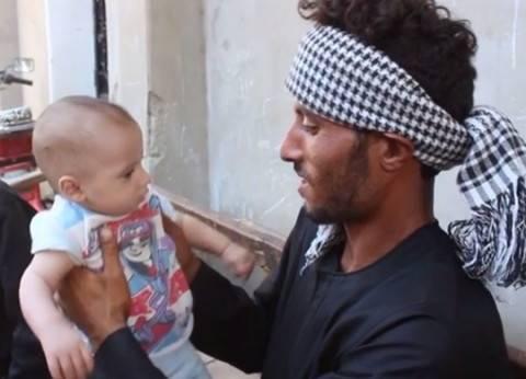 """والد """"طفلي المنيا"""" لـ""""الوطن"""": التيار جرفهما.. و""""اللفة"""" أنقذت الرضيع"""