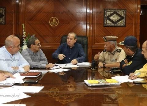 محافظ كفر الشيخ يصدر كتابا دوريا لمراجعة صيانة حنفيات الحماية المدنية