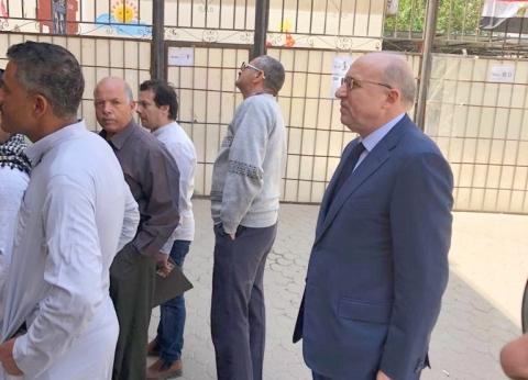 عادل العدوي يشارك في الاستفتاء: الشعب يريد استكمال مسيرة البناء