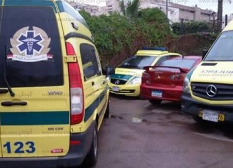 """""""الصحة"""": 7 وفيات و45 إصابة فيحادثانقلابأتوبيس بطريق نويبع"""
