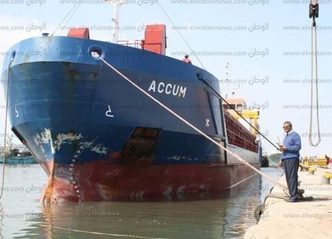 """""""اقتصادية قناة السويس"""" تعلن استقبال موانئ بورسعيد لـ31 سفينة"""
