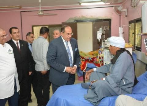 محافظ سوهاج يفتتح المرحلة الأولى من تطوير المستشفى التعليمي