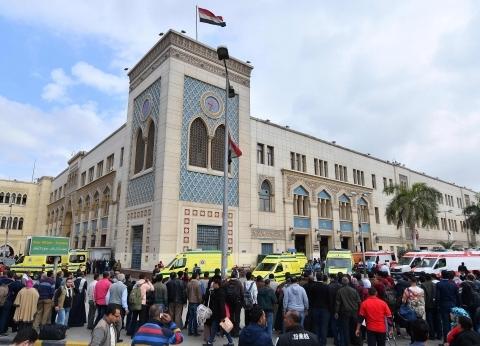 """وفد برلماني في """"محطة مصر"""" لتفقد الأوضاع"""