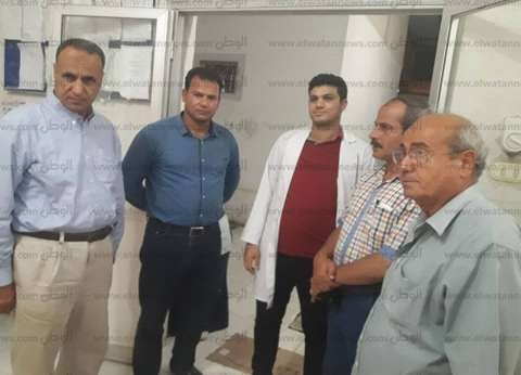 بالصور| جولة مفاجئة لرئيس مدينة دسوق على المستشفيات