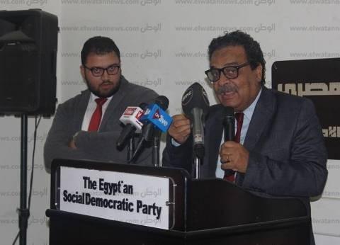 """المصري الديمقراطي يهنئ """"عبدالحي"""" لانتخابه أمينا عاما لـ""""الأطباء العرب"""""""