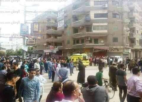 10 سيارات إسعاف من الدقهلية للمساعدة في نقل مصابي طنطا