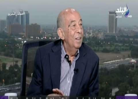 حسين عبد الرازق: عدلي منصور أعاد الإعتبار إلى خالد محيي الدين