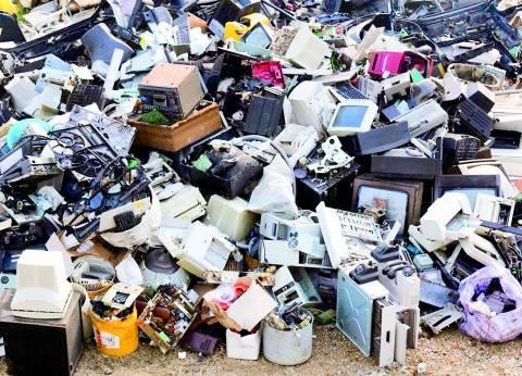 النفايات الإلكترونية.. ثروات «خطيرة» فى منازل المصريين