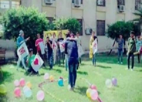 """مجلس تأديب جامعة الأزهر يقرر فصل طالبة """"الحضن"""" بالمنصورة"""