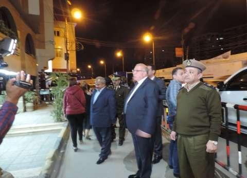 """مدير أمن القليوبية يفاجئ قوات تامين الكنائس ويؤكد :""""مش عاوز غلطة"""""""
