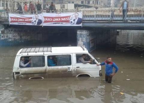 بالصور| أزمة الأمطار تصل الدقهلية .. والجيش الثاني يتدخل لشفط المياه