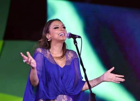 """أنغام تقدم الفقرة الغنائية في حفل ختام """"القاهرة السينمائي"""""""