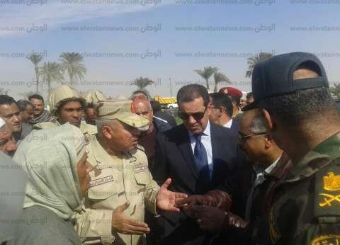 """""""مستقبل وطن أسيوط"""" يشيد بجهود كامل الوزير لإنهاء كوبري طما-البداري"""