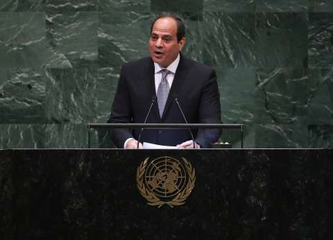 السيسي: النزاعات الطائفية وراء انتشار تجارة البشر والسلاح