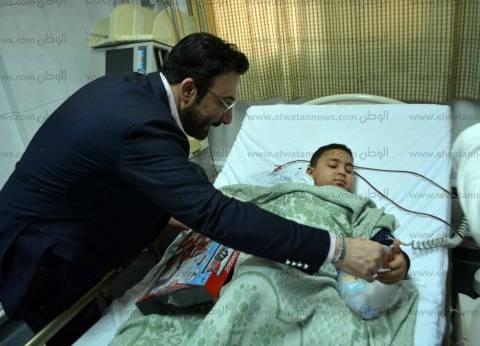 """نائب مدير """"أبو الريش للأطفال"""" يناشد أهل الخير بالتبرع للمستشفى"""