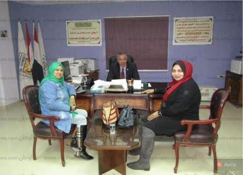 بالصور| رئيس مدينة أبورديس يستقبل وفدا من إذاعة جنوب سيناء