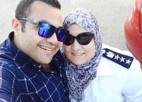 وصول جثمان الشهيدة نجوى النجار لمسجد المواساة بالإسكندرية