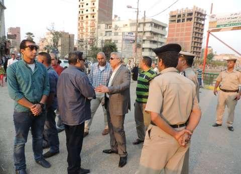 مدير أمن الفيوم يتفقد التمركزات الأمنية بالمدينة للتأكد من جاهزيتها