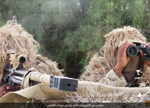 كاميرات المراقبة بكمائن شمال سيناء ترصد تحركات العناصر الإرهابية
