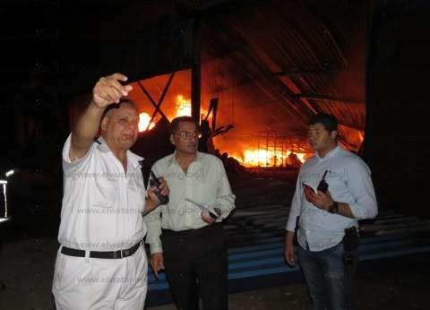 أمن الإسماعيلية يصدر بيانا بشأن حريق مصنعين بالمنطقة الصناعية