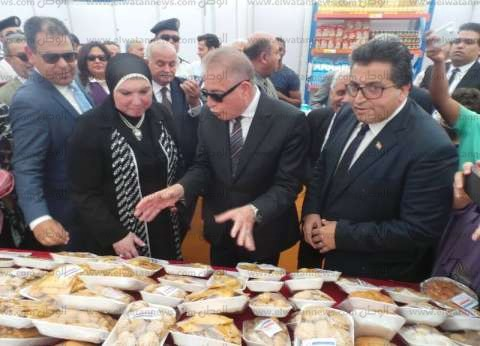"""محافظ جنوب سيناء يُشيد بمنتجات المدرسة الفندقية بمعرض """"أهلا رمضان"""""""