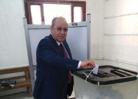 رئيس مجلس الدولة يدلي بصوته في الاستفتاء على التعديلات الدستورية