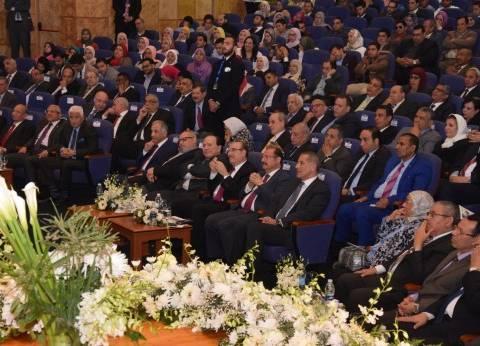 """جامعة النهضة تحتفل بنقل رئاستها لـ""""الملاحي"""" في حضور محافظ بني سويف"""