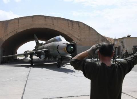 """الدفاعات الجوية السورية تتصدى لـ""""أهداف جوية"""" قرب مطار دمشق"""