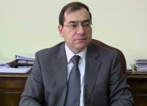 وزير البترول يدلي بصوته في لجنة جراج ماسبيرو