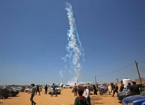 استهداف آلية عسكرية إسرائيلية بصاروخموجه على حدود قطاع غزة