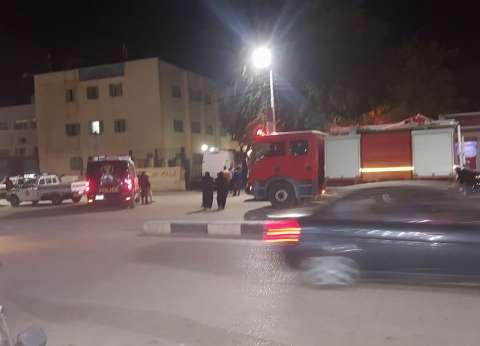 مصرع 4 مجندين وإصابة ثلاثة آخرين في حادث تصادم بالوادي الجديد